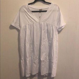 Asos Tall Ultimate Cotton Smock Dress